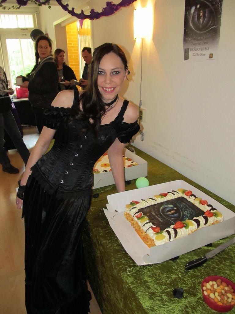 Patty met de taart