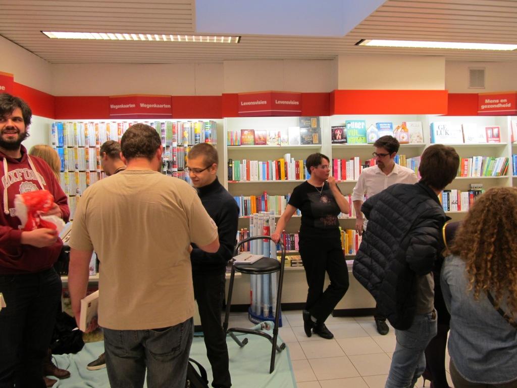 Openboekdagen, Standaard Boekhandel Ekeren
