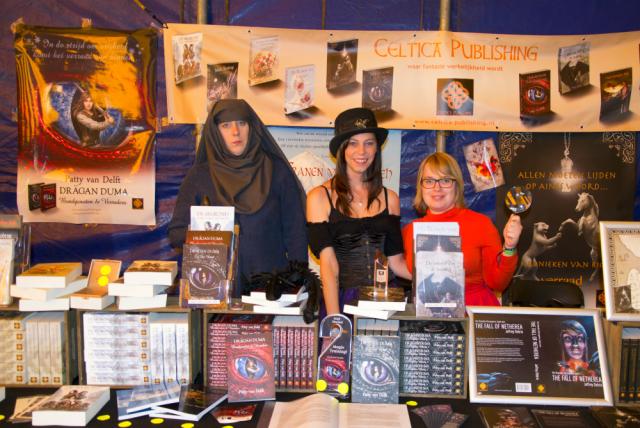 Drie fantastische schrijfsters