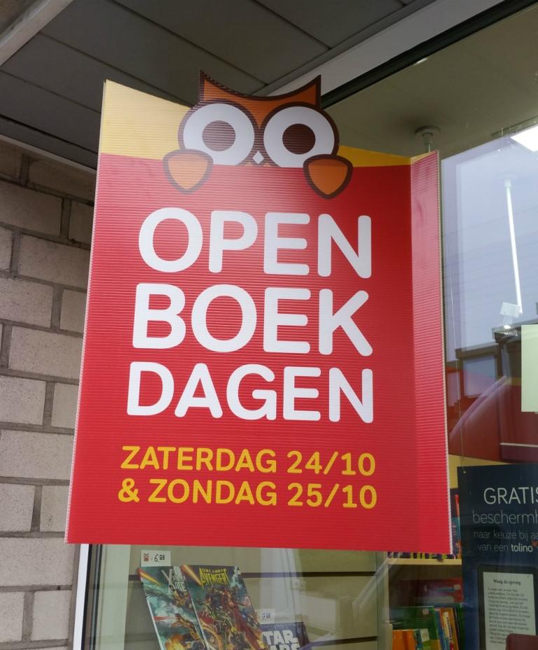 Openboekdagen Standaard Boekhandels