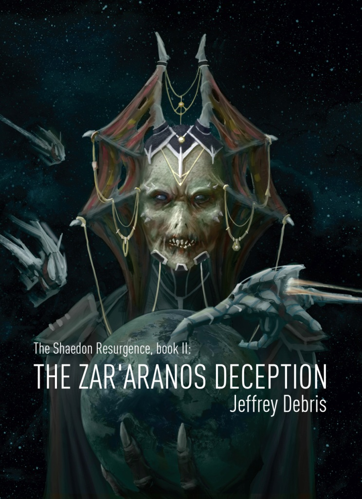 Cover The Zar'aranos Deception
