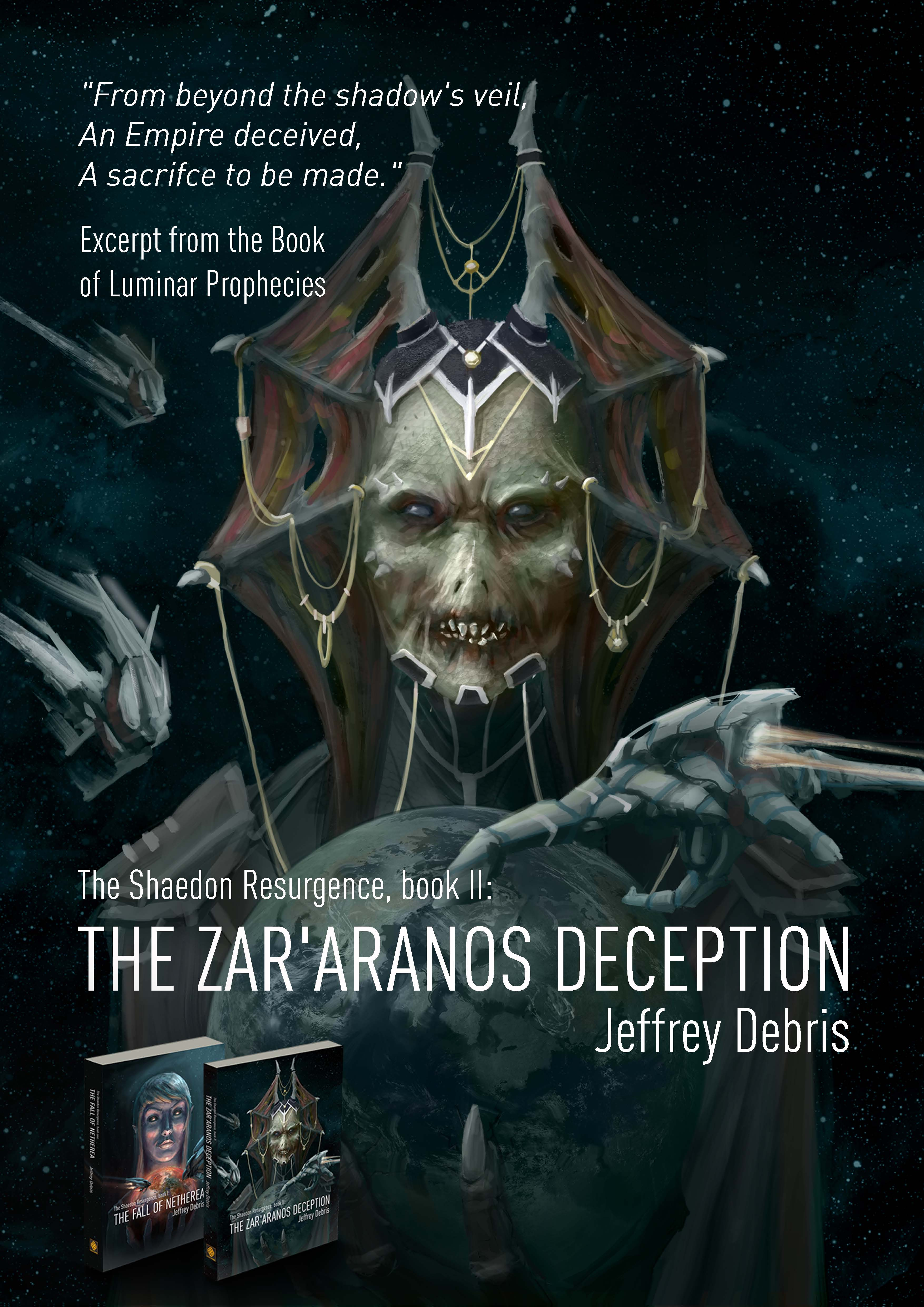 Poster The Zar'aranos Deception