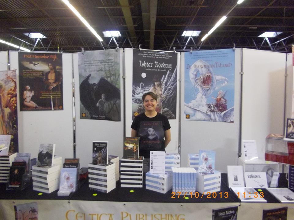 Uitgeefster en schrijfster Rianne Lampers - foto door Peter van Rillaer