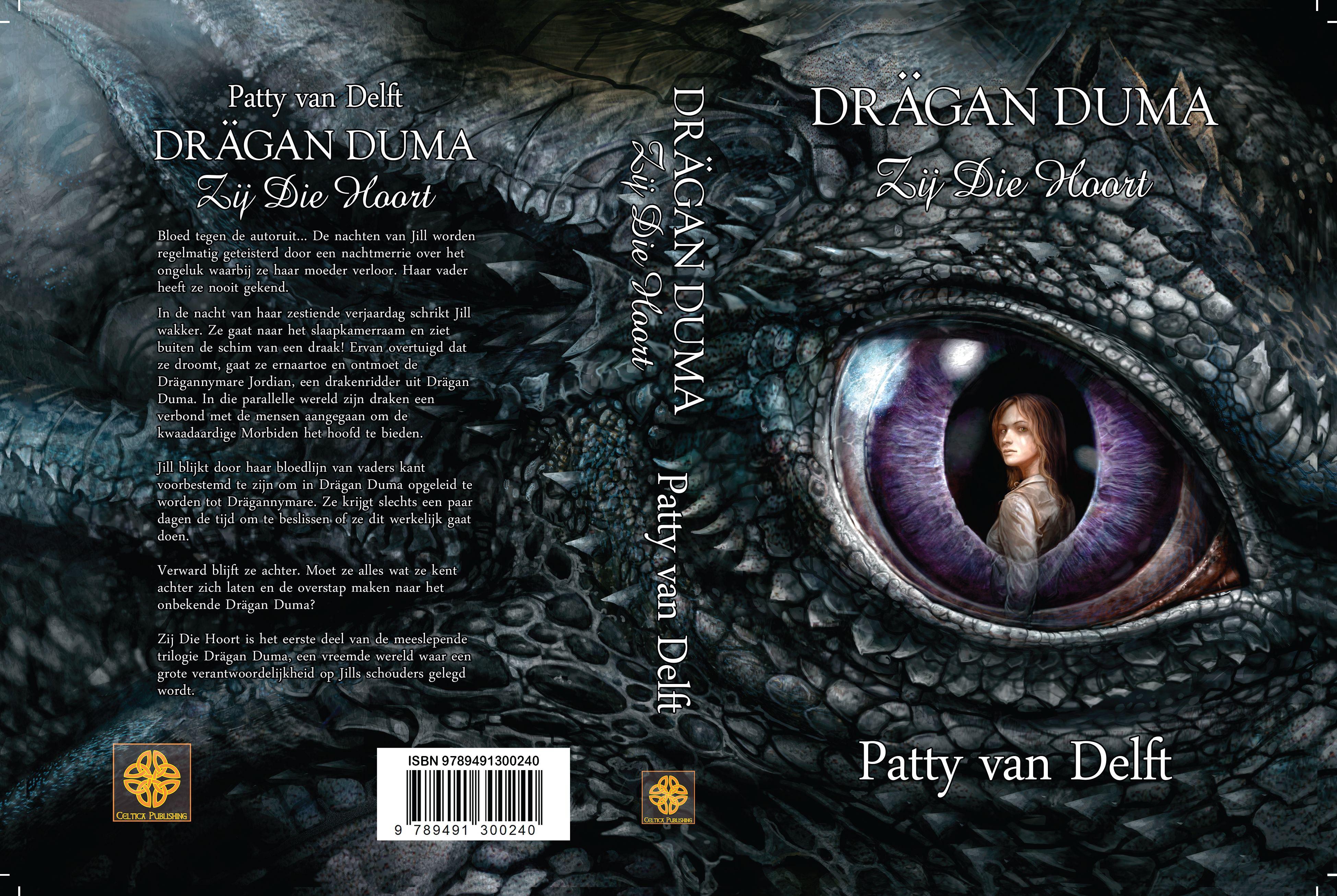 Omslag Drägan Duma - Boek 1 - Zij Die Hoort