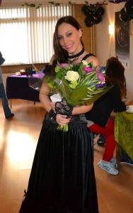 Patty met bloemen