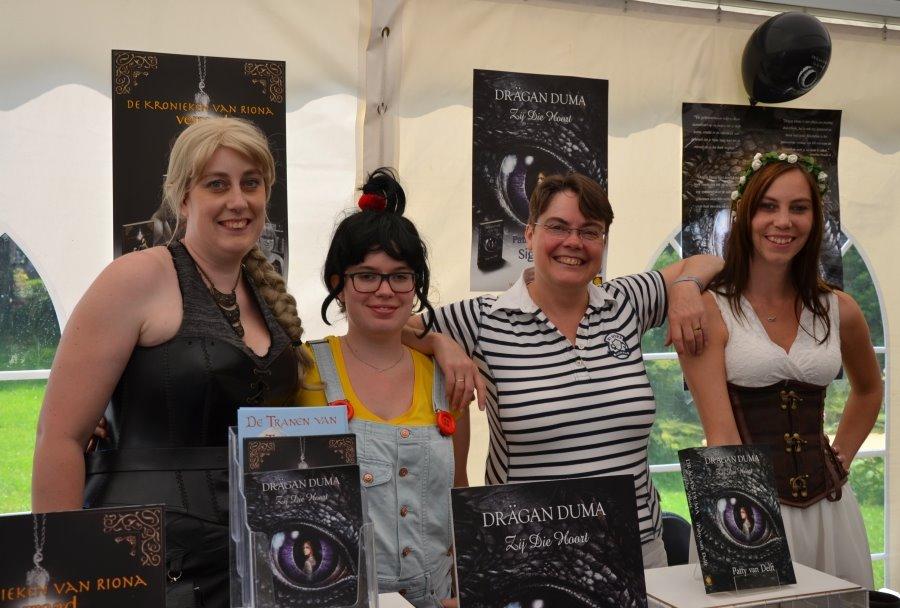 Vier fantastische schrijfsters