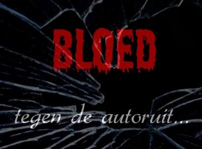 Bloed tegen de autoruit