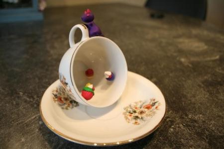 2de prijs - Cupcakegrot met beschermdraak