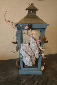 1ste prijs - Fantasylantaren met gnoompjes
