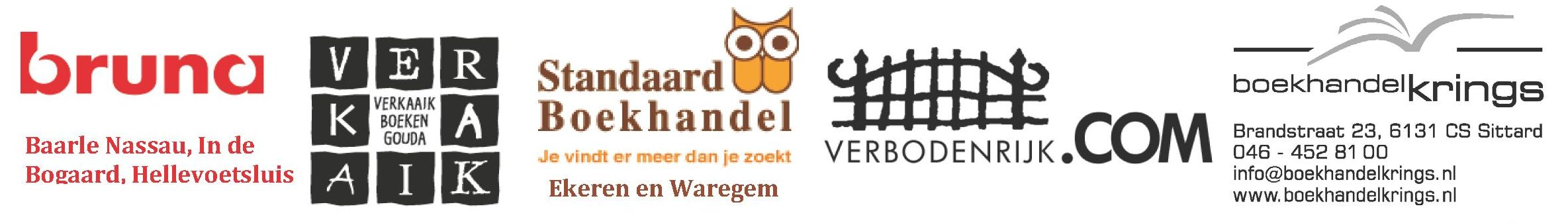 Logo's boekhandels