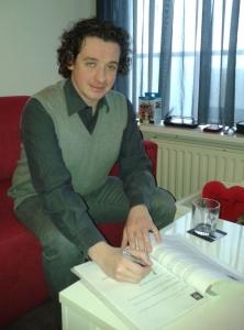 Jeffrey Debris - contractondertekening