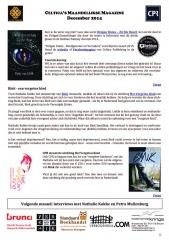 Interview Patty van Delft over Bondgenoten en Verraders (blz. 5)