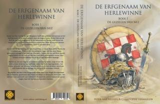 Omslag De erfgenaam van Herlewinne - Boek I - De gezellen van Nez