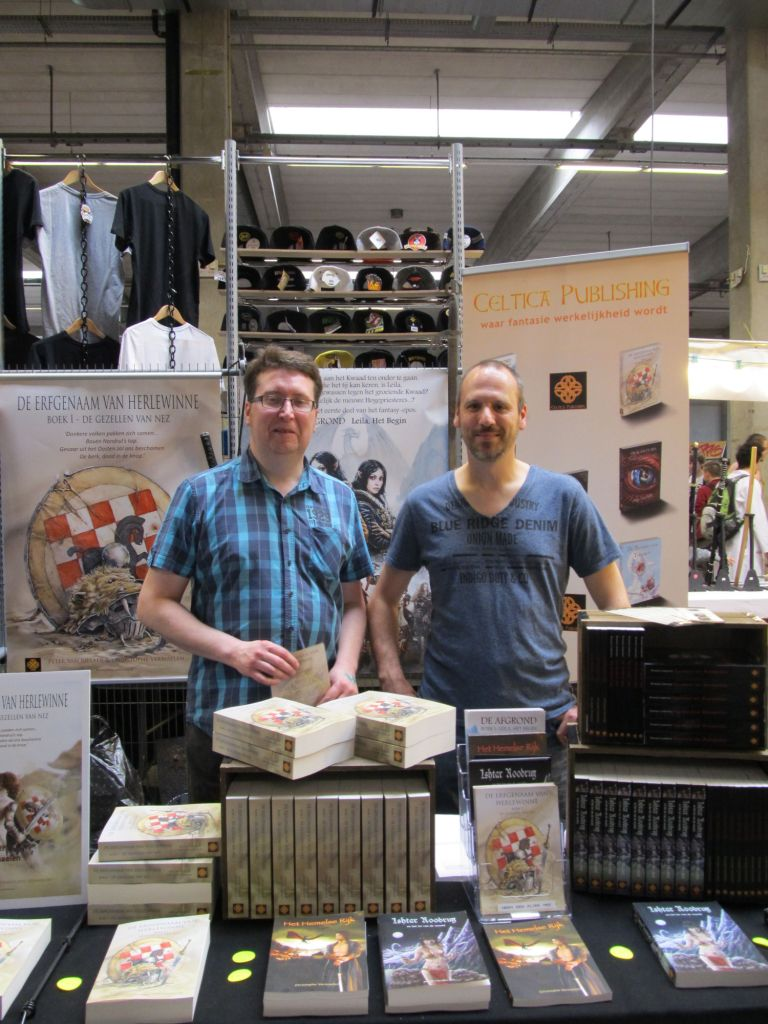 Antwerp Convention 2015: Peter van Rillaer en Christophe Vermaelen