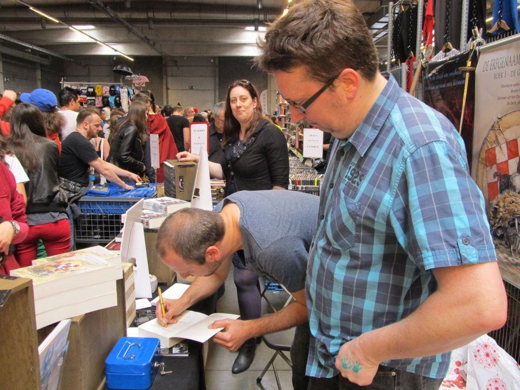 Antwerp Convention 2015: Christophe Vermaelen signeert