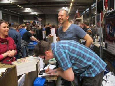 Antwerp Convention 2015: Peter van Rillaer signeert