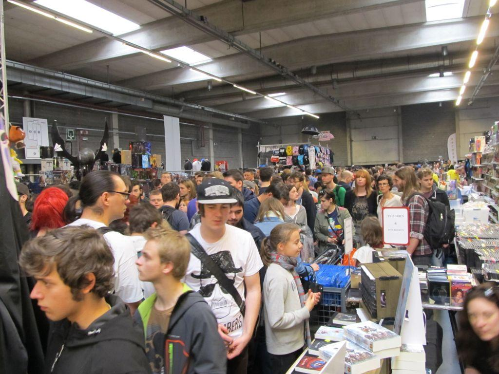 Antwerp Convention 2015: enorm druk!