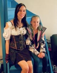 Patty met grote fan Iolana