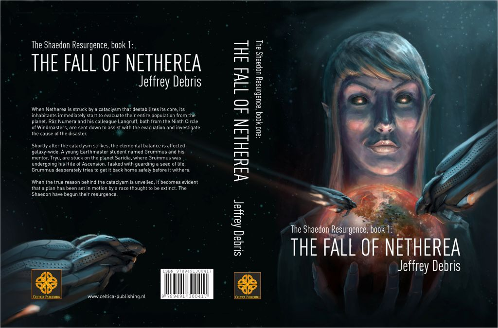 Omslag The Fall of Netherea