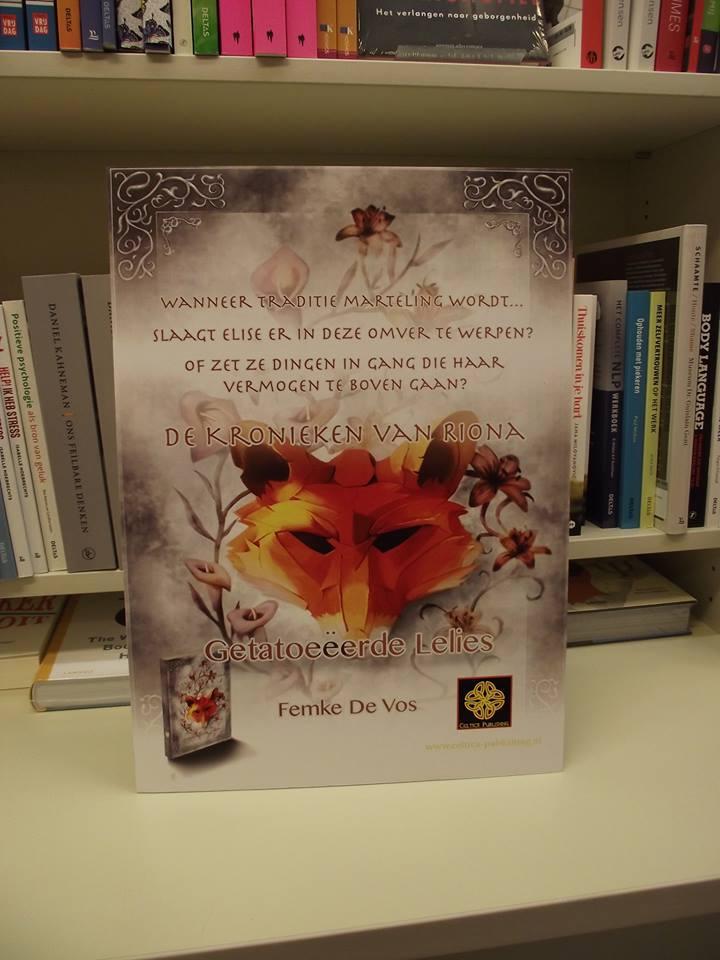 Poster Getatoeëerde Lelies