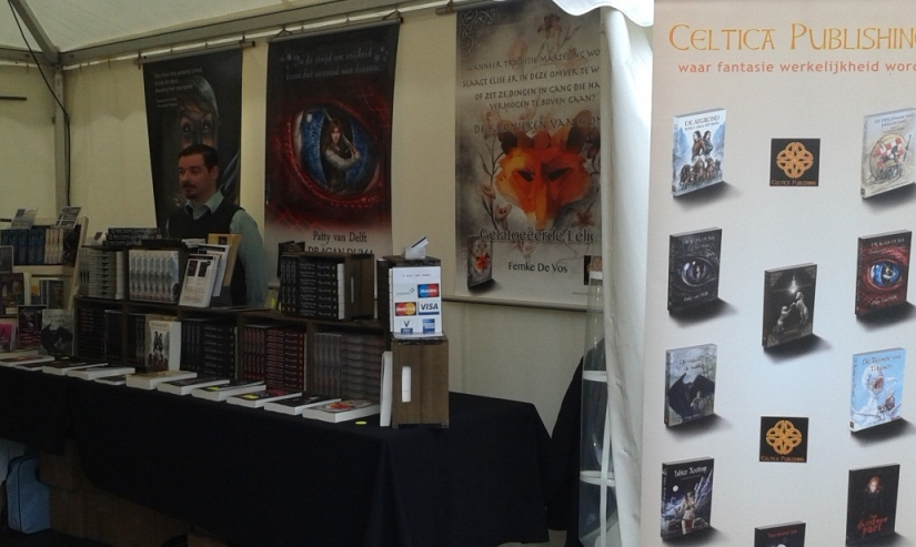 Wintereditie Castlefest - schrijverstent