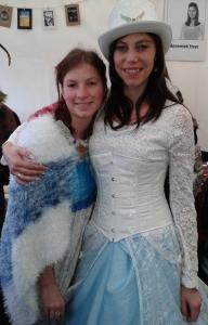 Wintereditie Castlefest - Patty met fan