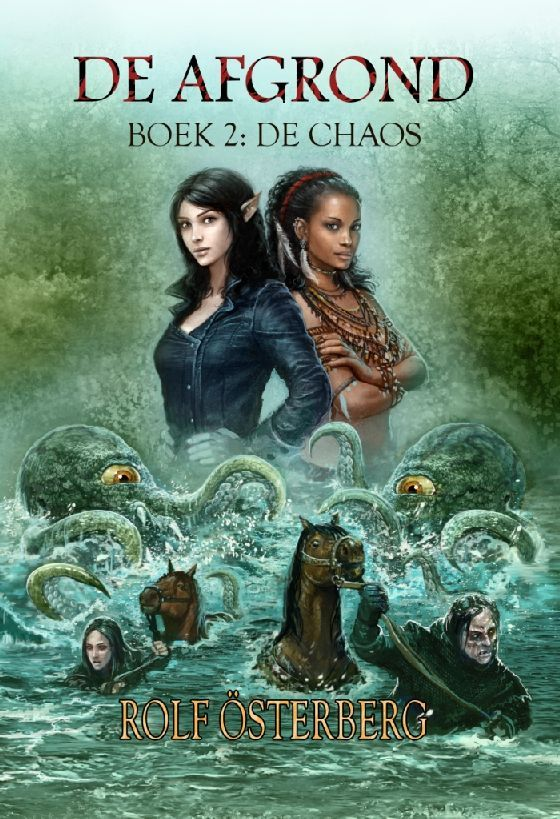 Cover De Afgrond, boek 2 - De Chaos