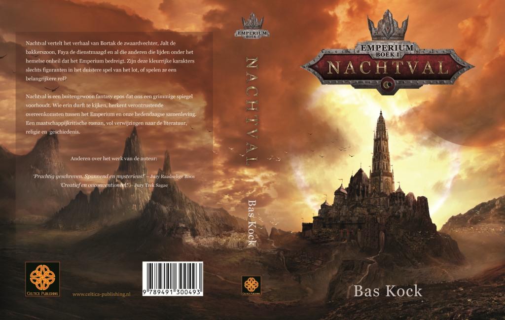 Omslag Emperium, boek 1 - Nachtval