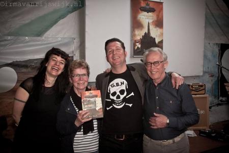 Bas, Tessa en ouders Bas - foto door Irma van Rijswijk