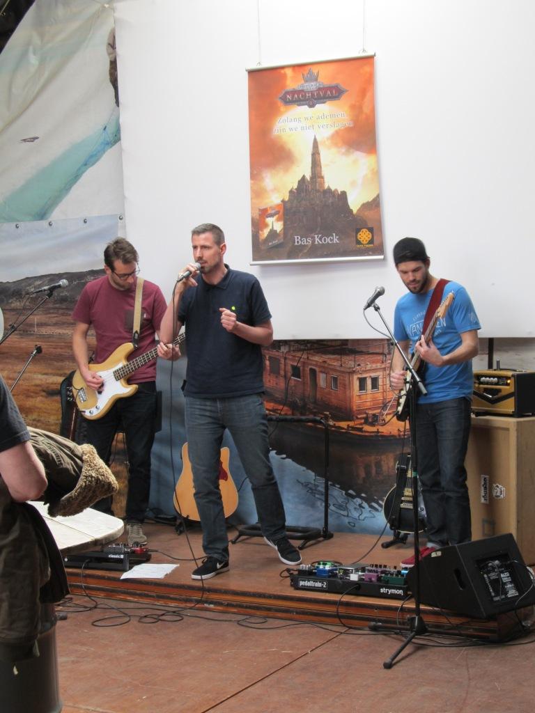 Marco Martens en zijn band