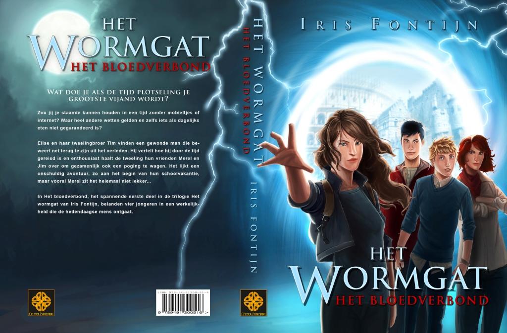 Omslag Het wormgat, boek 1 - Het bloedverbond