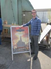 Ronald Helmstrijd, ontwerper cover en landkaart