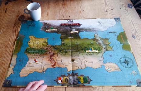 Uitvouwbare kaart Emperium