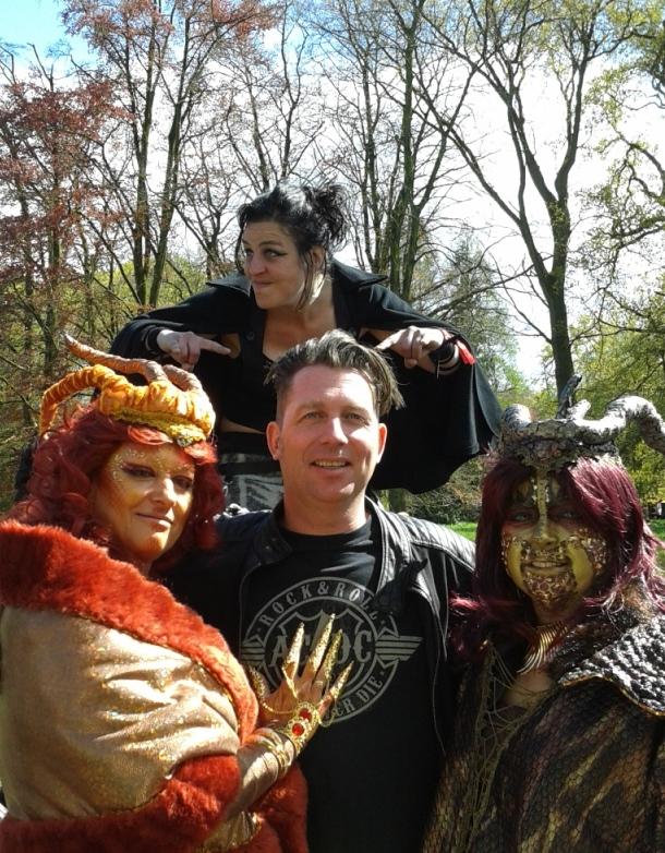 Bas Kock, Tamara de steltloopster en twee draken