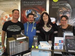 De zaterdagploeg van Celtica Publishing
