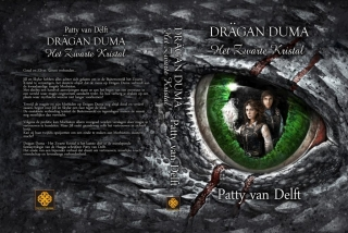 Omslag Drägan Duma, boek 3 - Het Zwarte Kristal