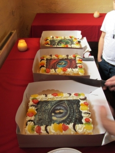 Drie taarten Drägan Duma