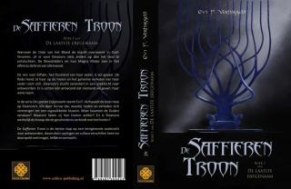 Omslag De Laatste Erfgenaam, Boek 1 - De Saffieren Troon