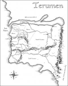 Landkaart Terumen