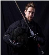 Michel Rensen - zwaardvechter