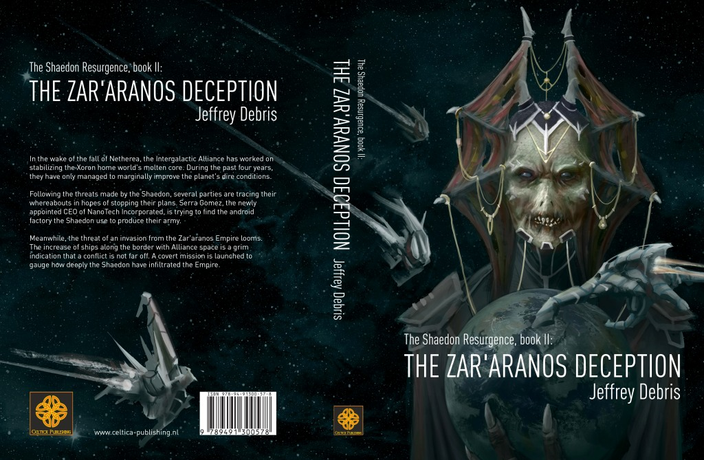 Omslag The Zar'aranos Deception