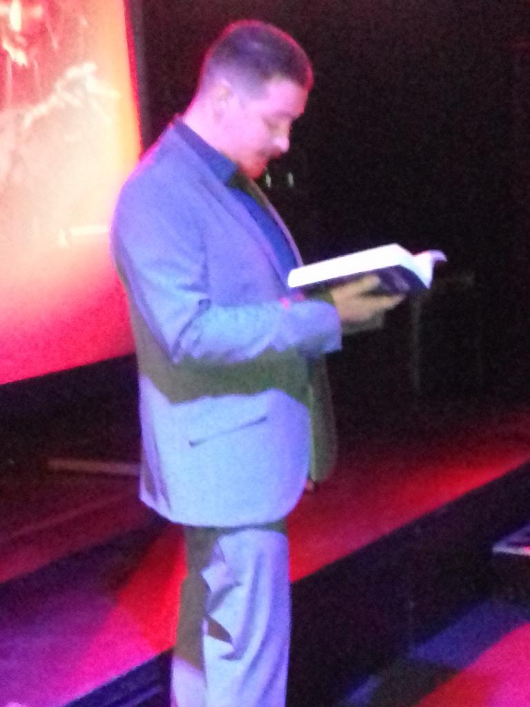 Jeffrey leest voor