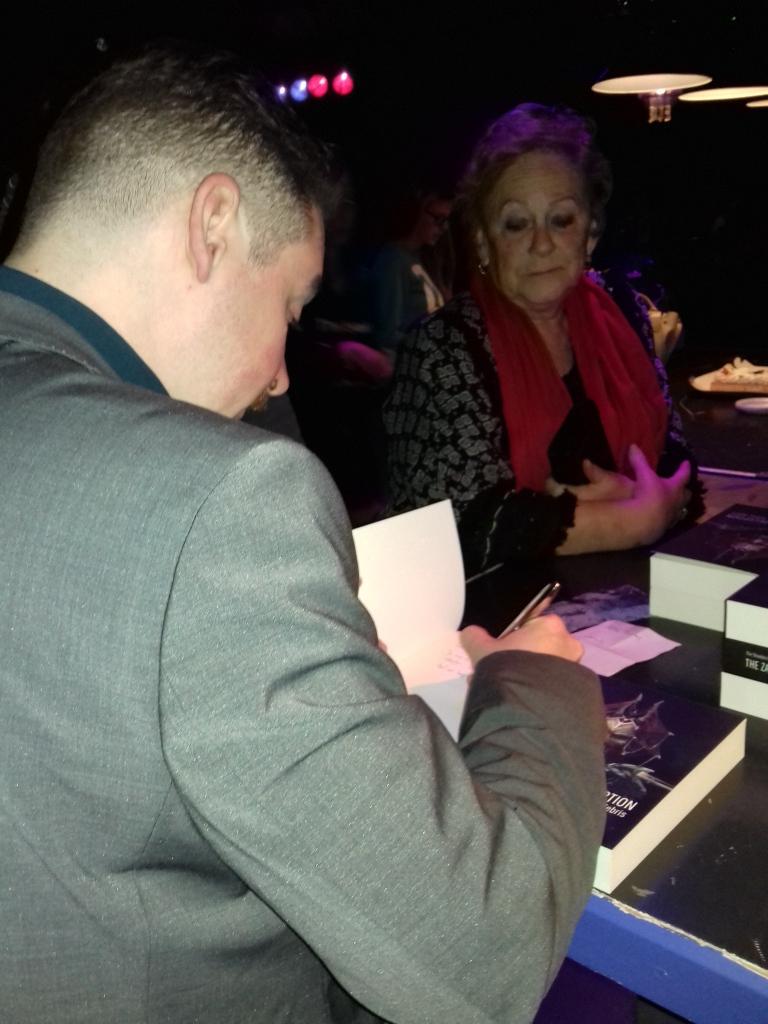 Jeffrey signeert