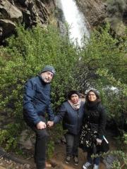 Peter met vrouw en dochter