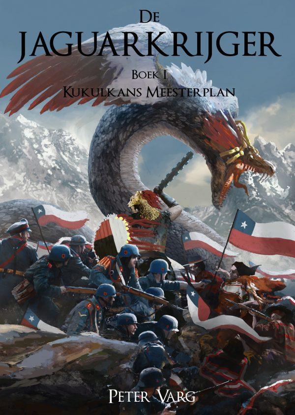 Voorkant Kukulkans Meesterplan - De Jaguarkrijger