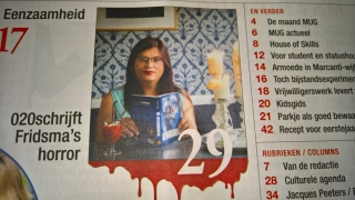 Voorpagina Mug Magazine - interview Cynthia Fridsma