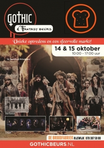 Flyer Gothic & Fantasy Beurs