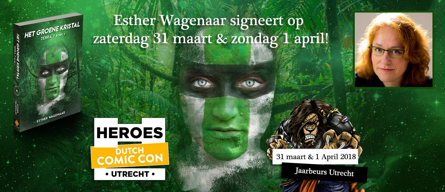 Dutch Comic Con & Het groene kristal