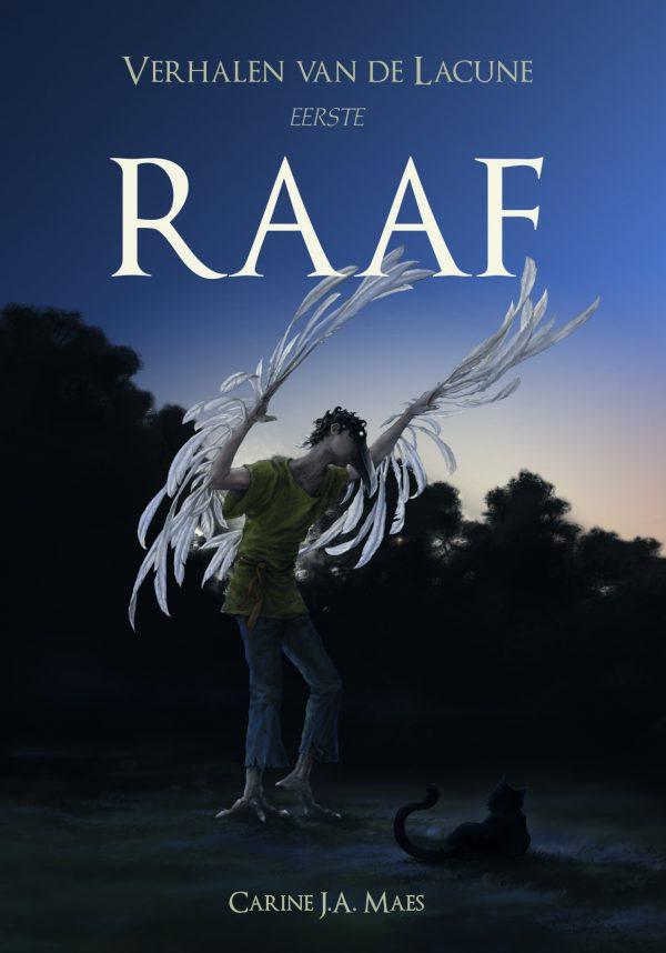 Voorkant Verhalen van de Lacune - Raaf