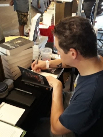 Castlefest - Jeffrey signeert